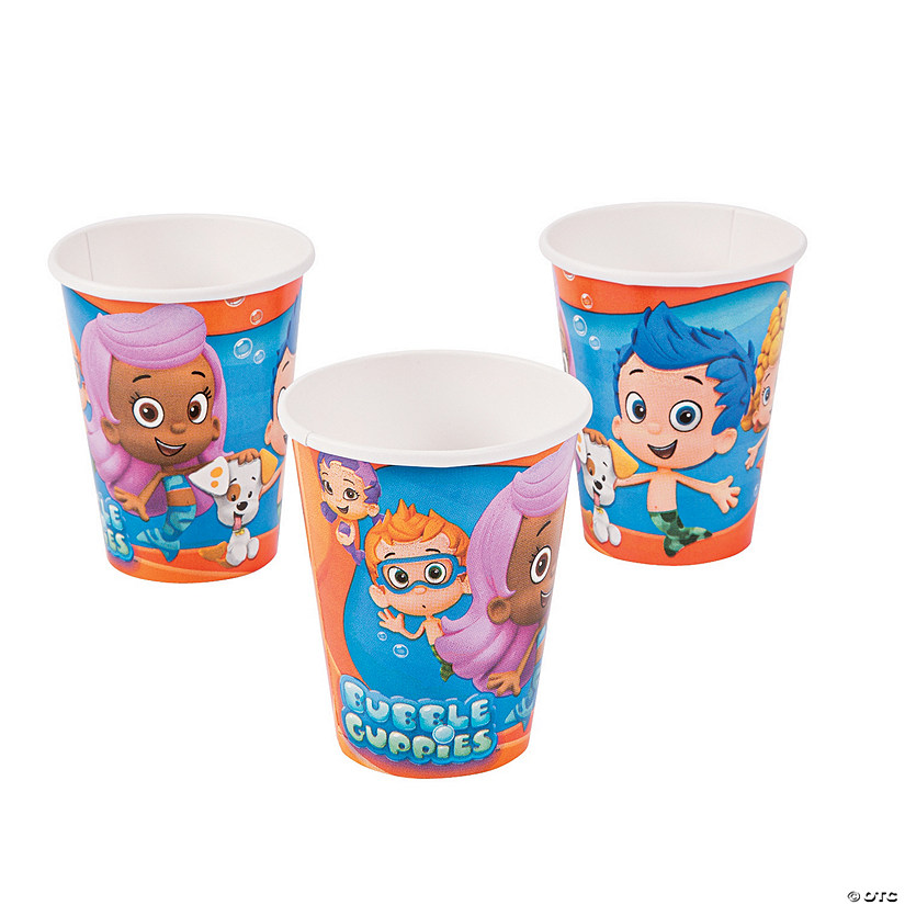Bubble Guppies Paper Cups
