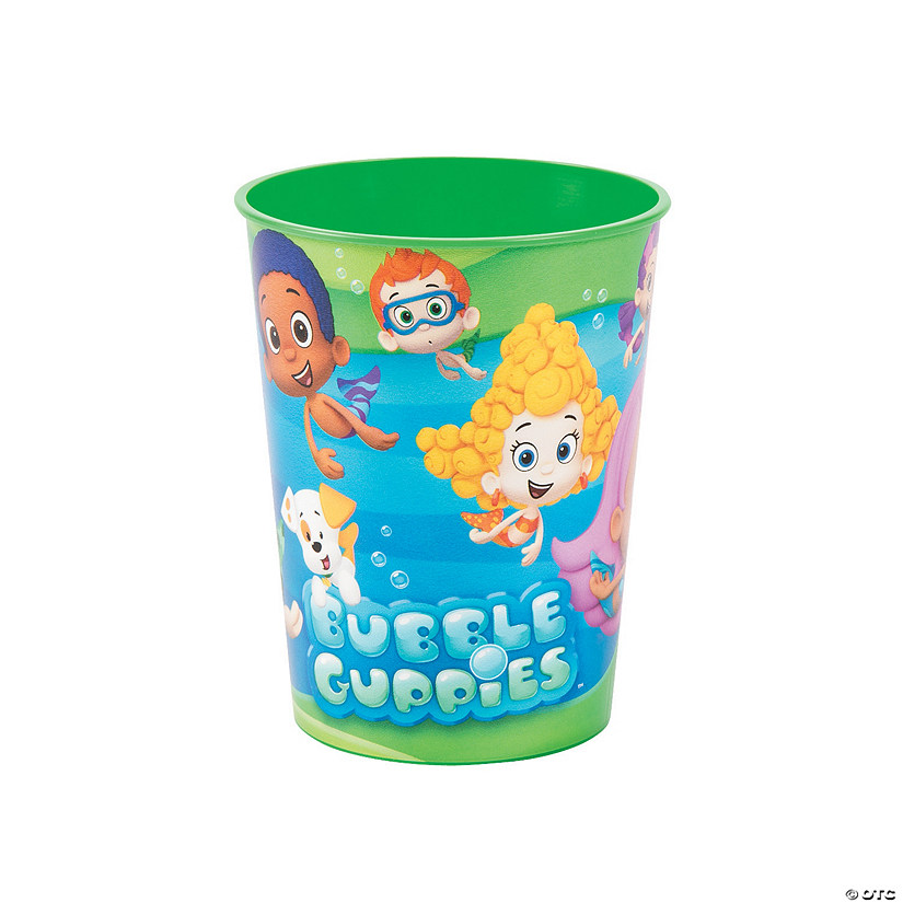 Bubble Guppies Plastic Tumblers