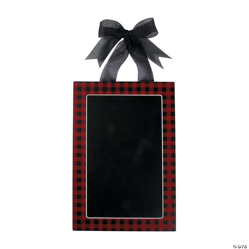 Buffalo Plaid Chalkboard Sign