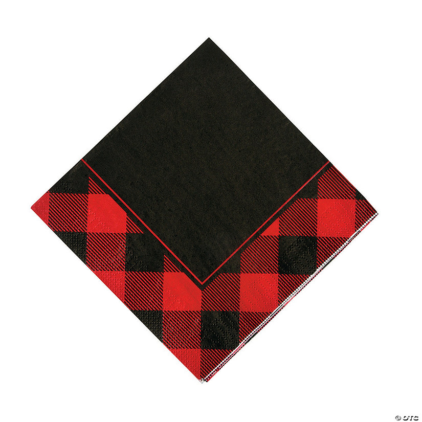 Buffalo Plaid Luncheon Napkins