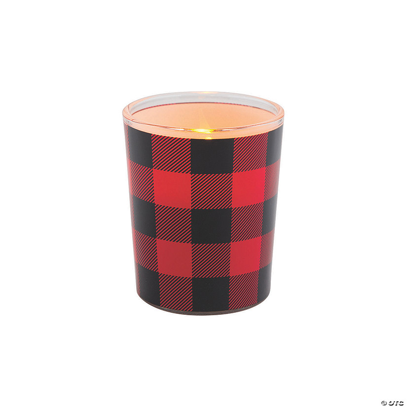 Buffalo Plaid Votive Holders