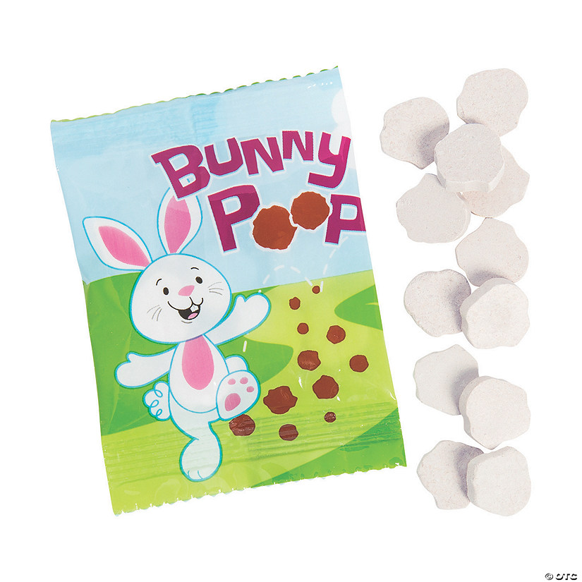 Bunny Poop Candy Packs