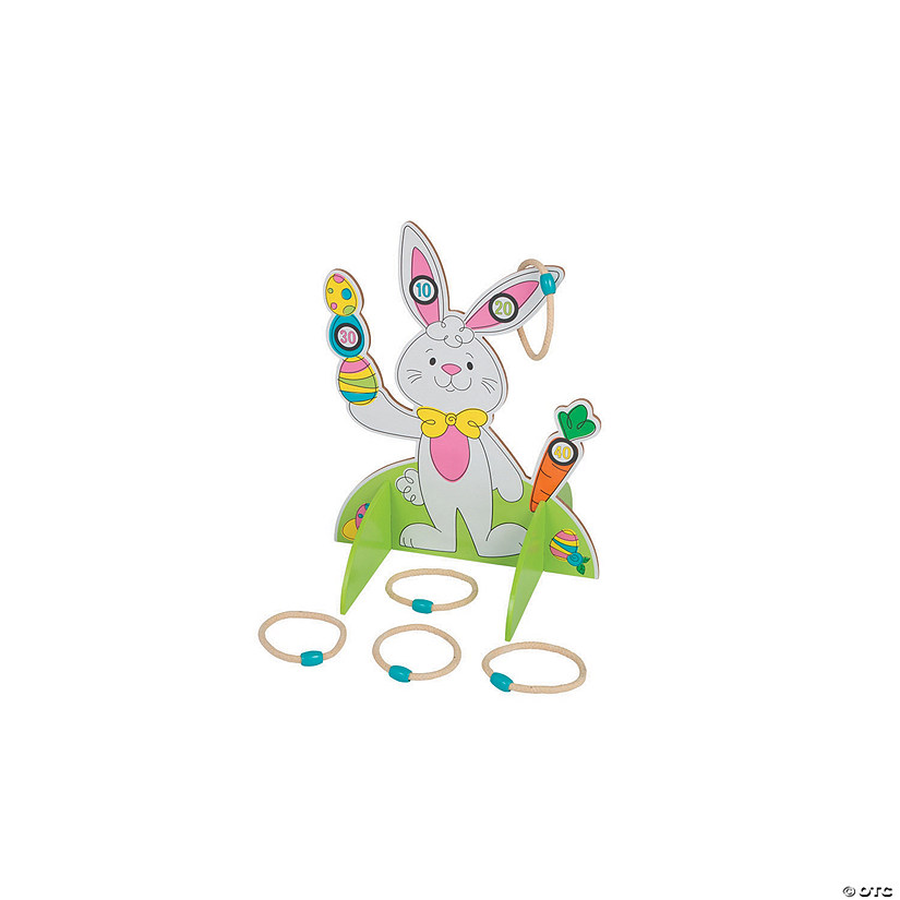 Bunny Ring Toss Game