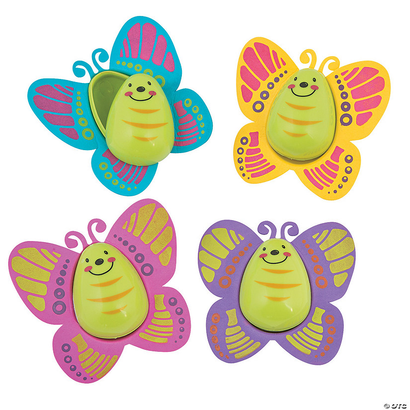 Butterfly Easter Eggs - 12 Pc.