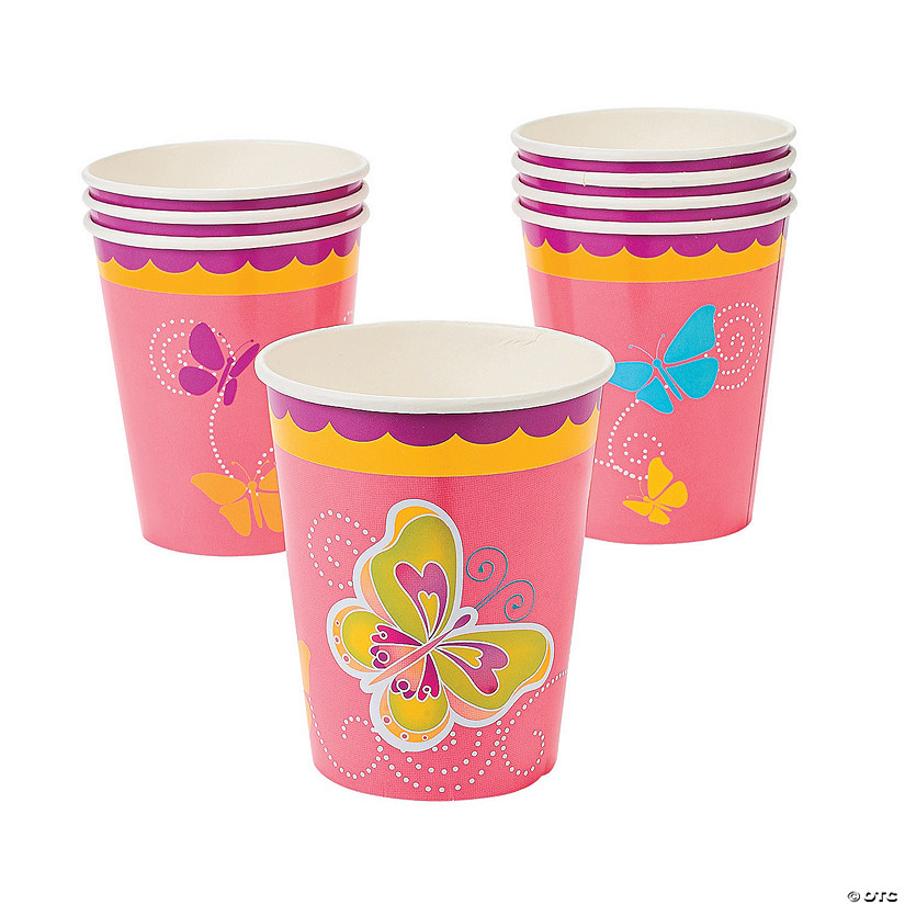 Butterfly Paper Cups