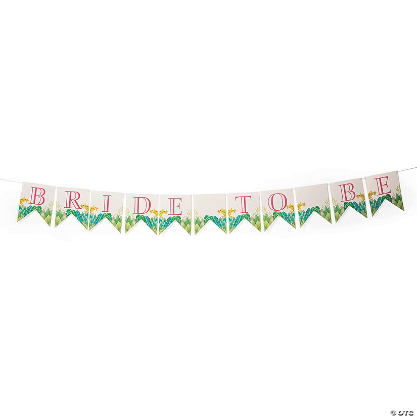 Cactus Bridal Shower Garland
