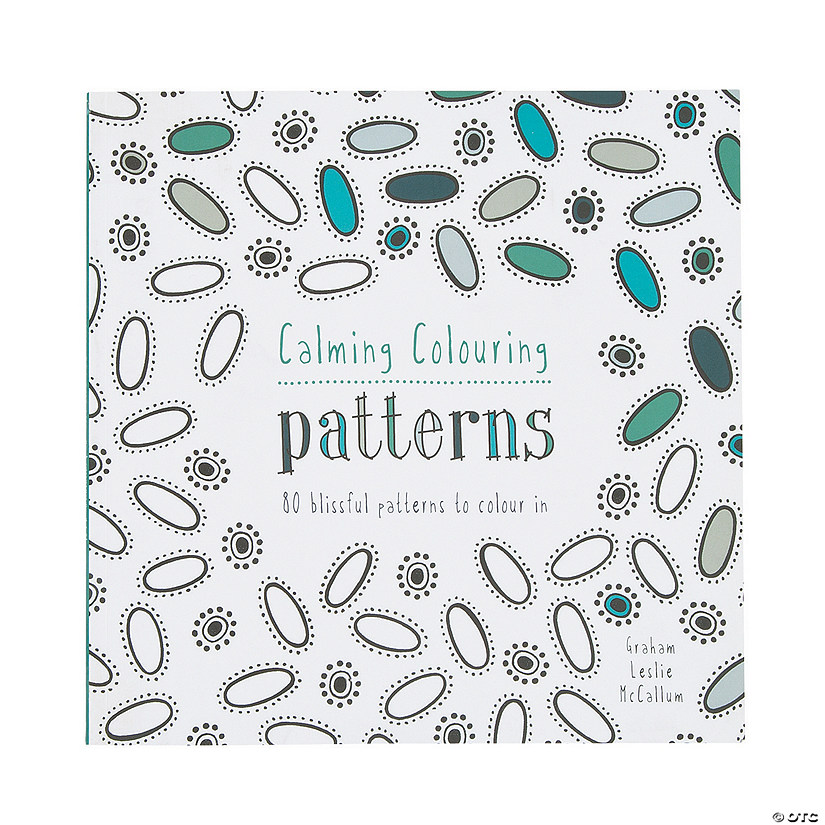 Calming Coloring Pattern Book