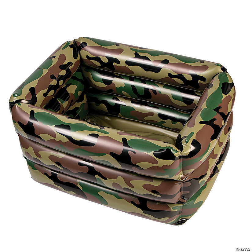 Camo Inflatable Cooler