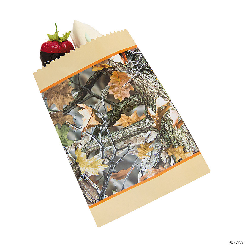 Camouflage Wedding Treat Bags