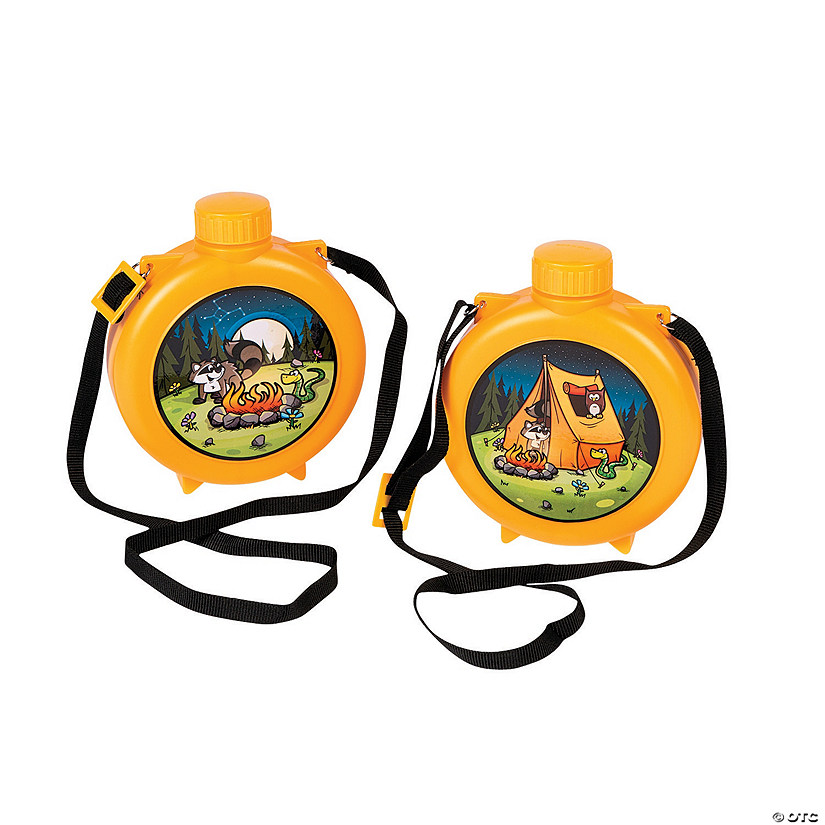Camp Adventure Plastic Canteens