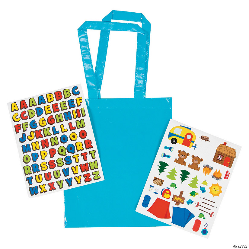 Camp Laminated Tote Bag Craft Kit