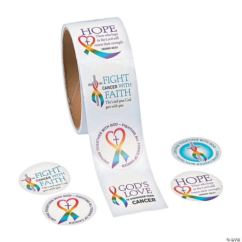 Cancer Awareness Faith Stickers