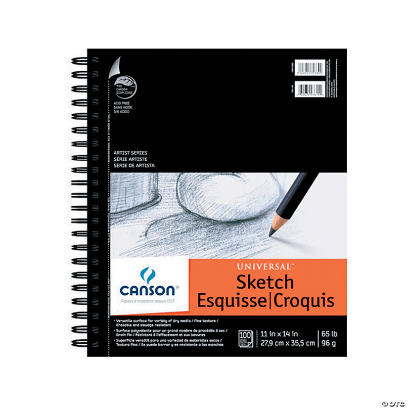 Canson Heavyweight Sketch Pad