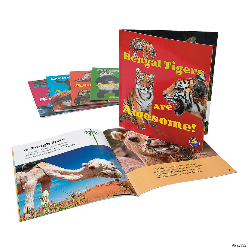 Capstone® Awesome Asian Animals Books - Set of 6