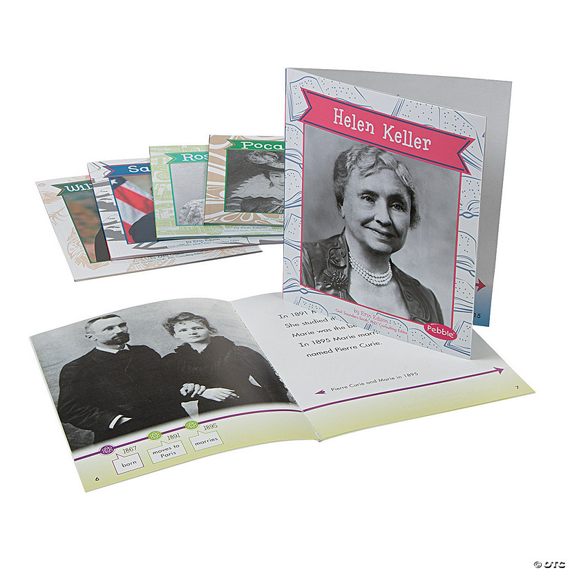 Capstone® Great Women in History Books - Set of 6