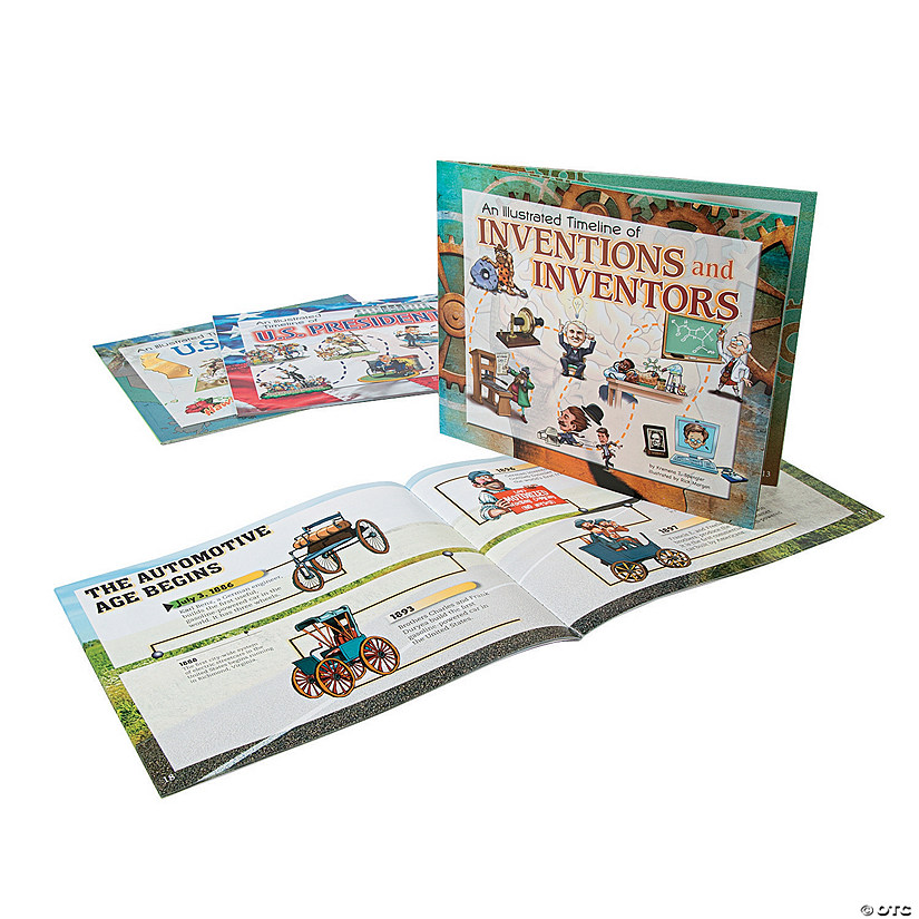 Capstone® Visual Timelines in History Books - Set of 4