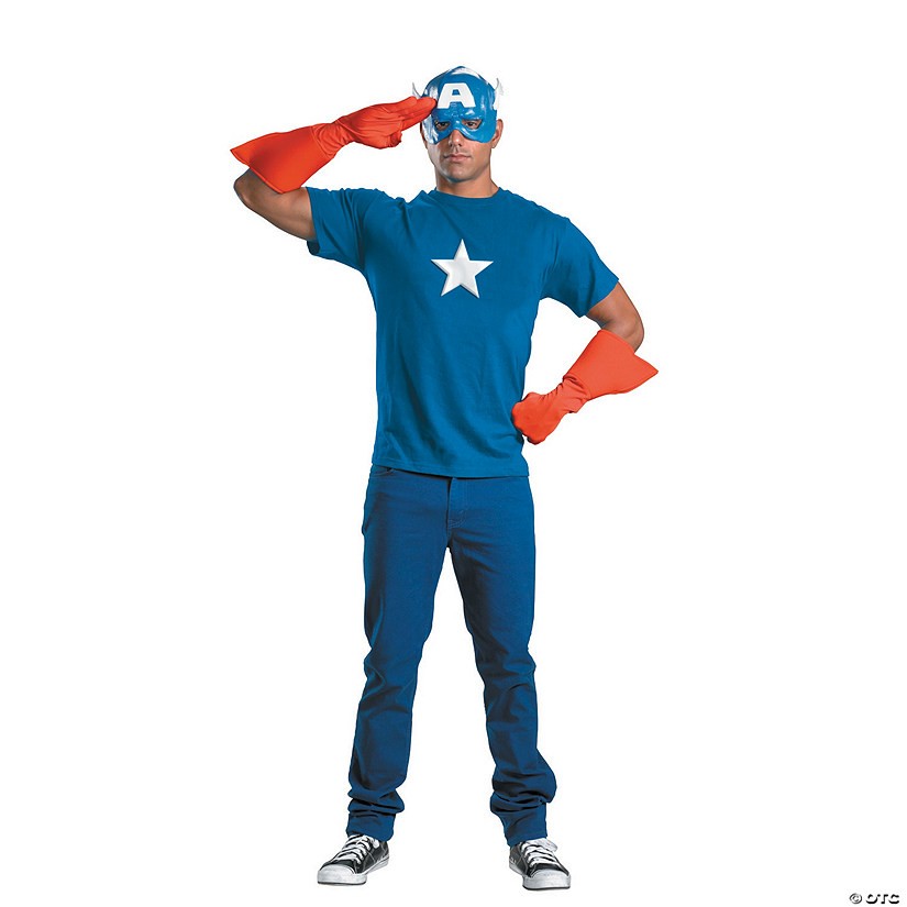 Captain America Costume Kit
