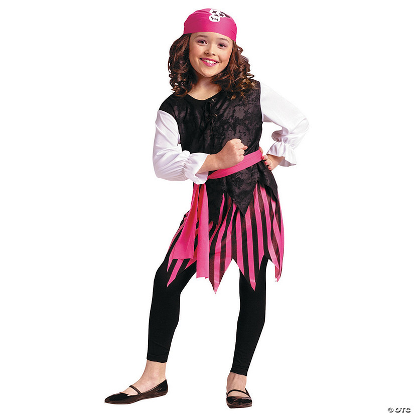 Caribbean Pirate Girls Halloween Costume