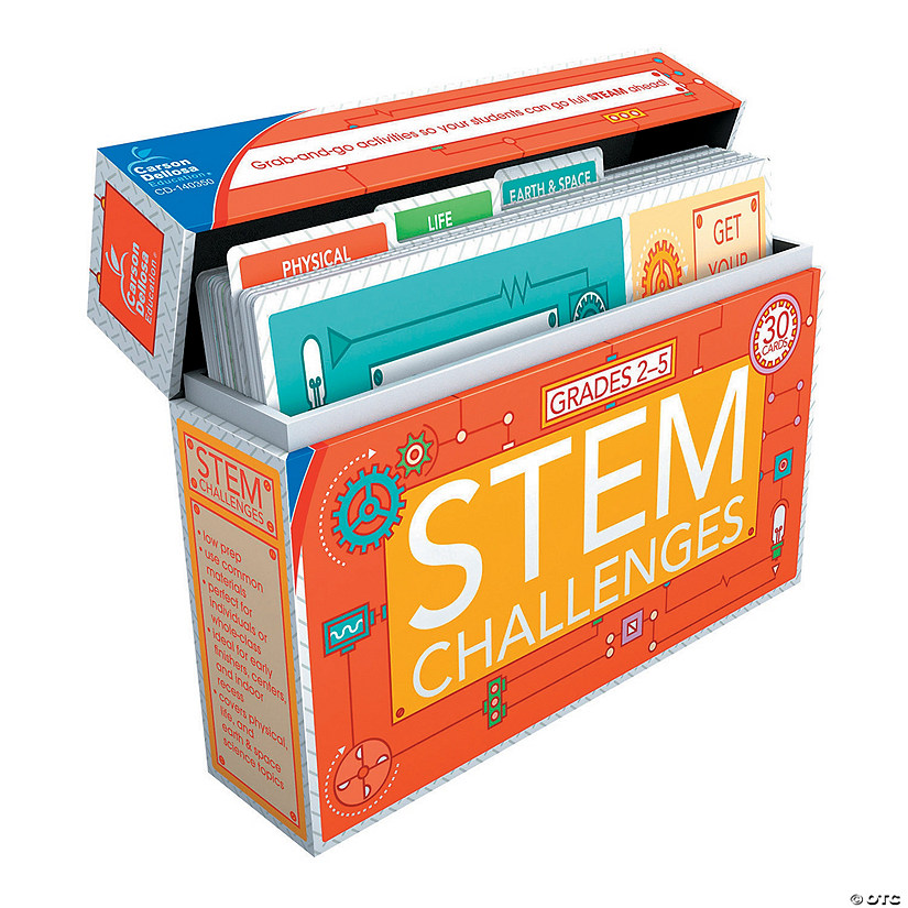 Carson-Dellosa<sup>®</sup> STEM Challenges Learning Cards Grades 2-5