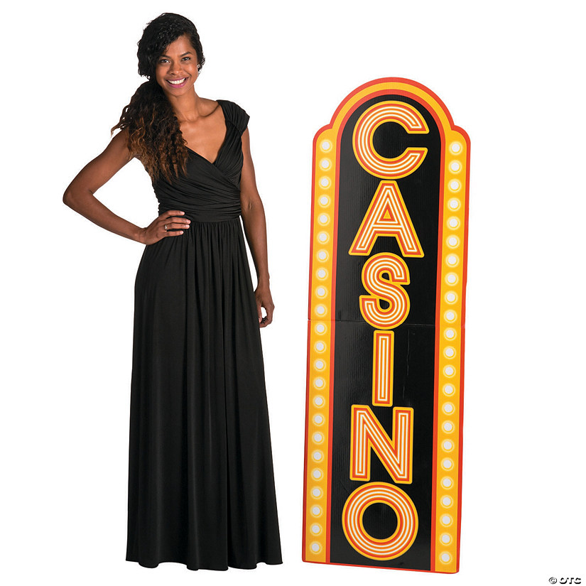 Casino Sign Stand-Up
