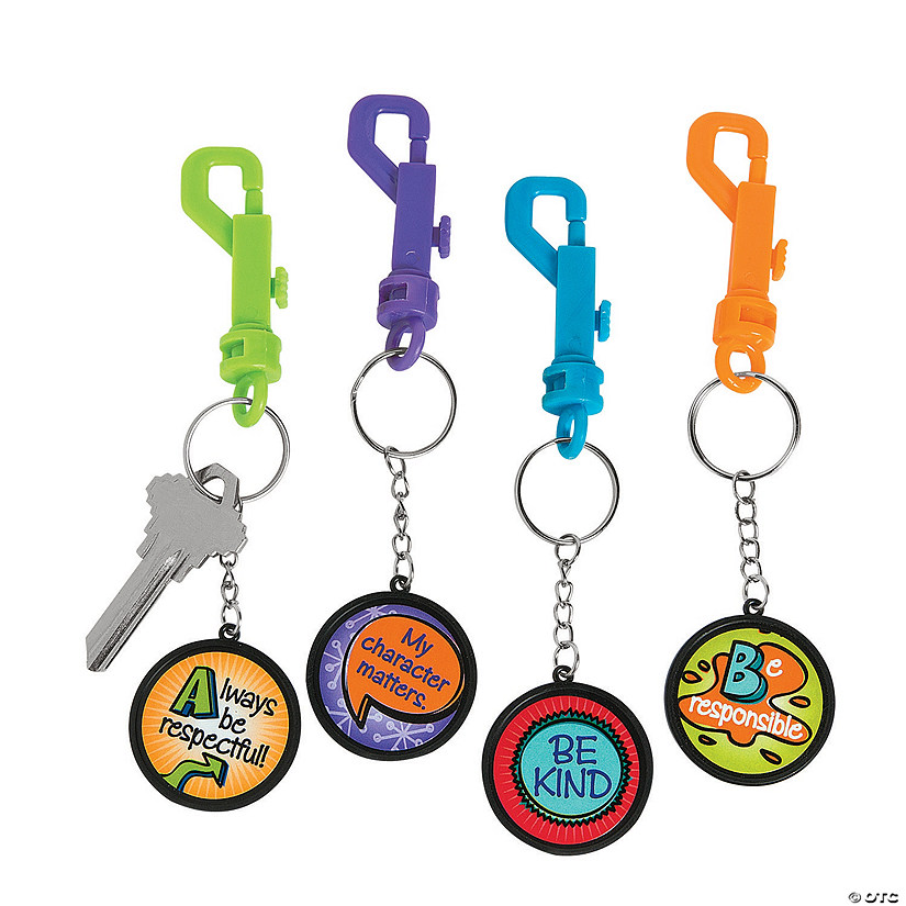 Character Backpack Clip Keychains