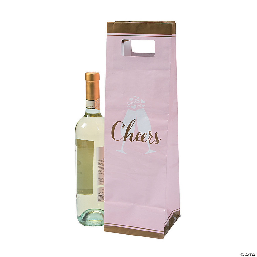 Cheers Wine Bottle Bags