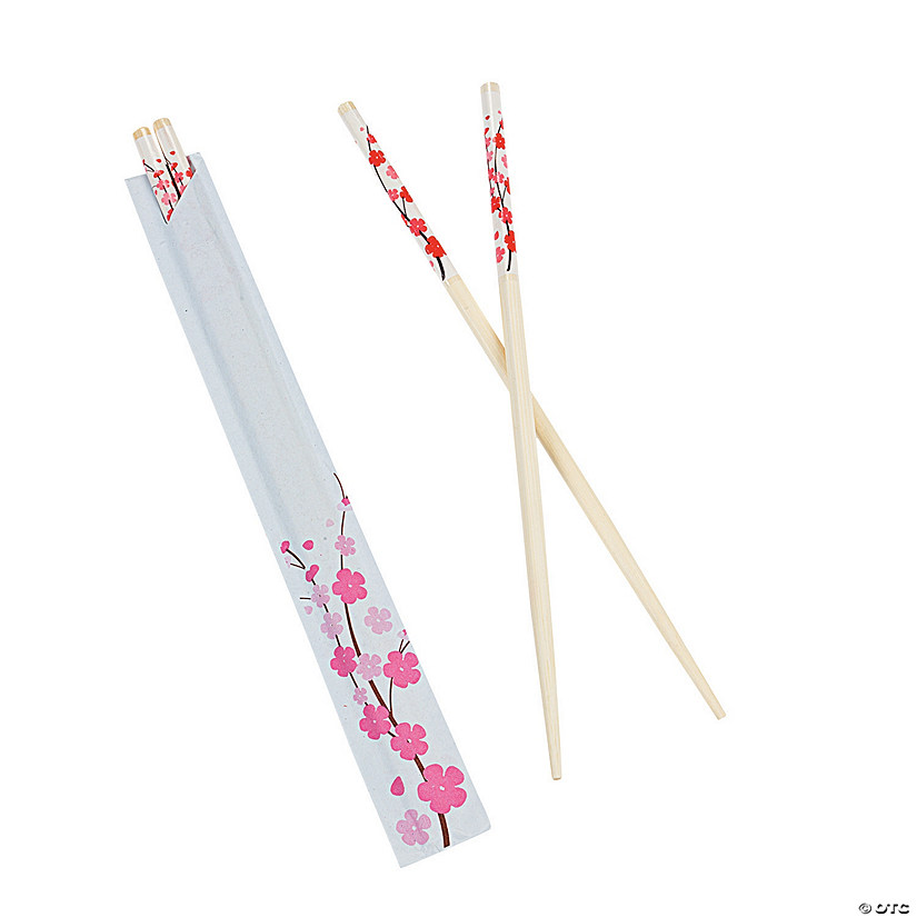 Cherry Blossom Wood Chopsticks