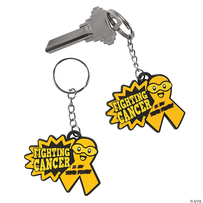 Childhood Cancer Awareness Keychains