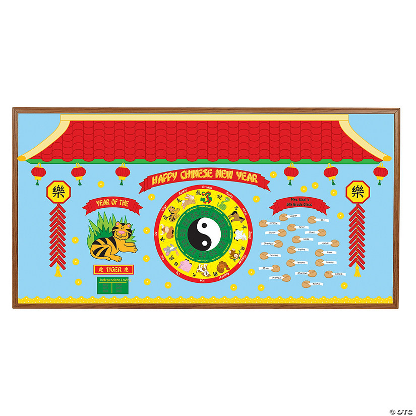 Chinese New Year Bulletin Board Set - Discontinued