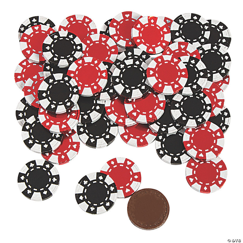 Chocolate Poker Chip Candy