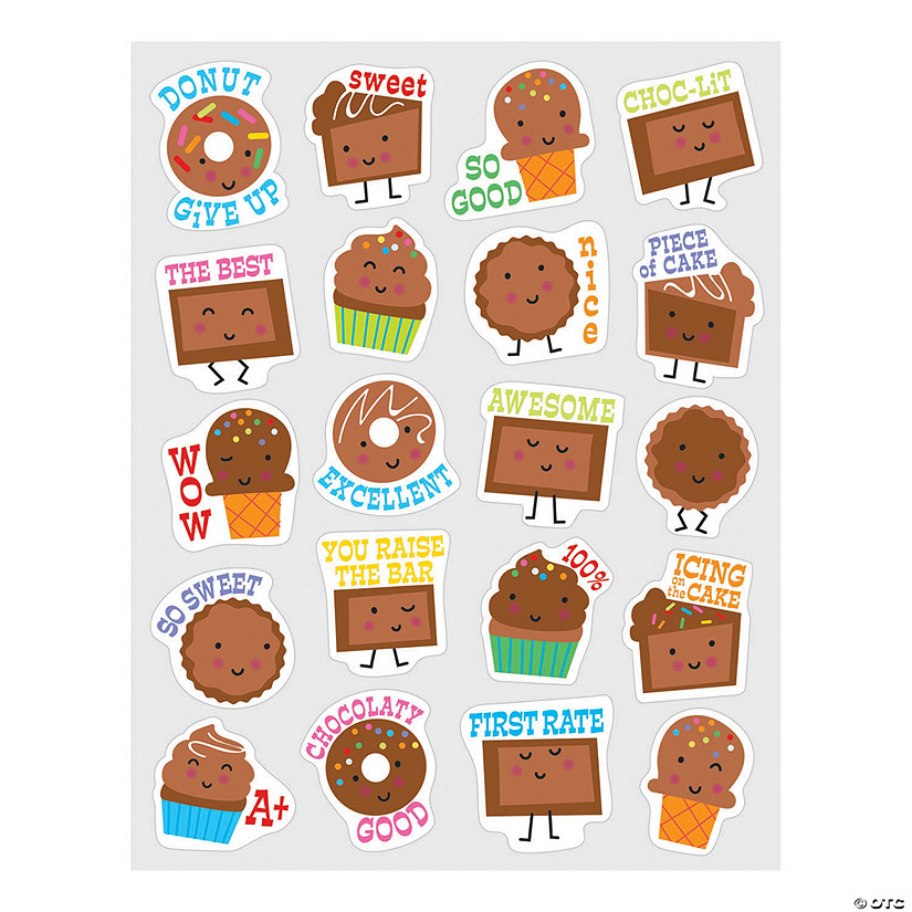 Chocolate-Scented Stickers