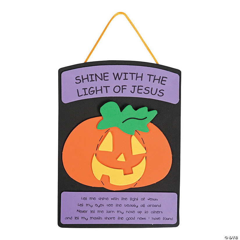Christian Pumpkin Craft Kit