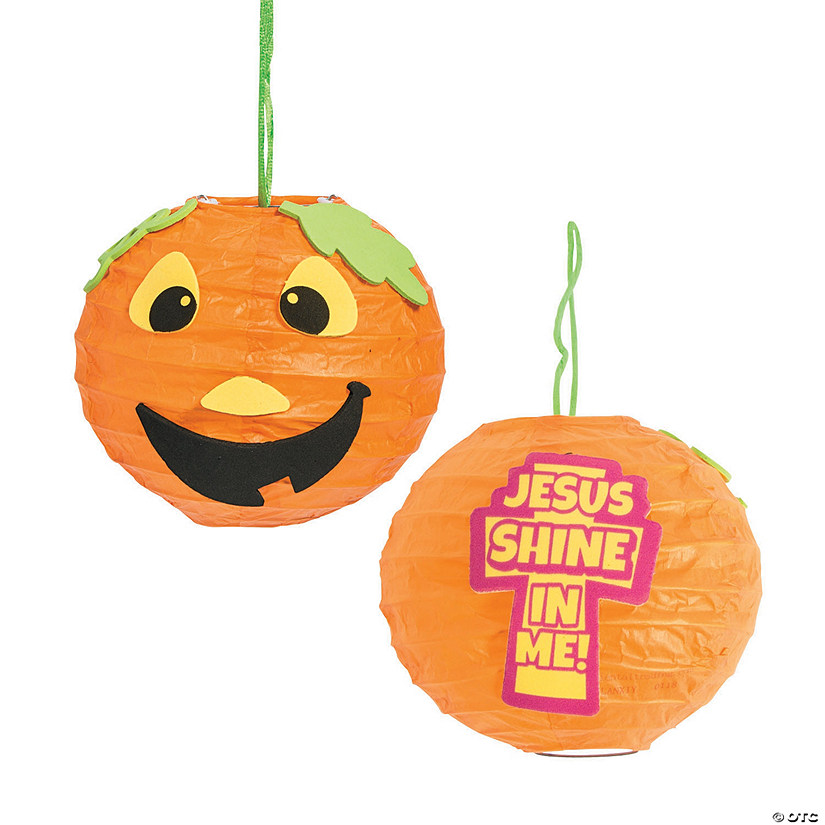 Christian Pumpkin Mini Lantern Craft Kit
