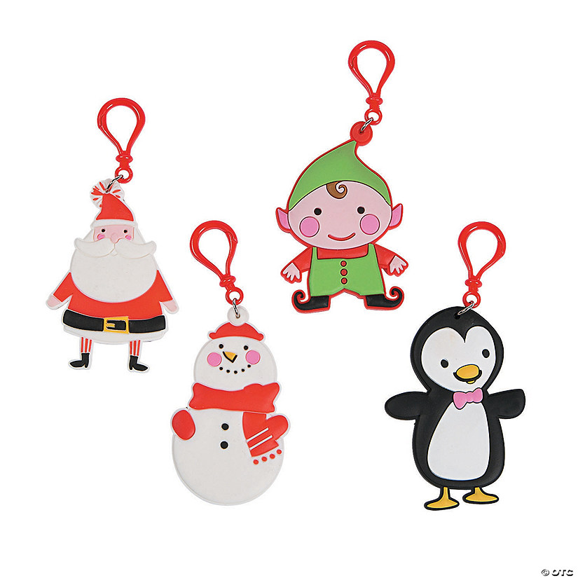 Christmas Backpack Clips
