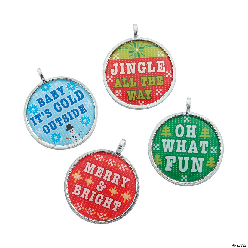 Christmas Cross Stitch Charms