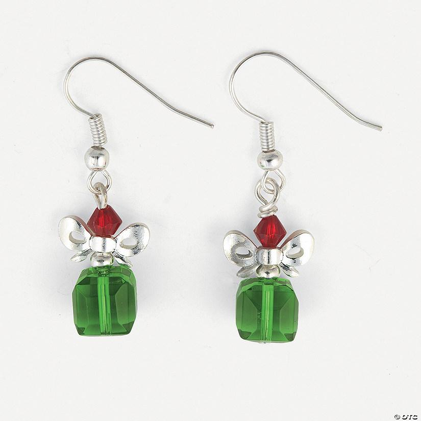 Christmas gift crystal earring kit