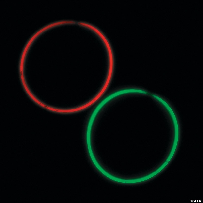 Christmas Glow Necklaces
