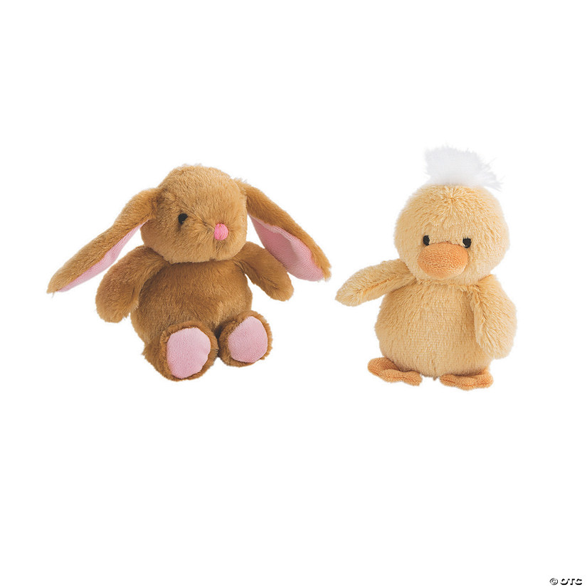 Chubby Stuffed Easter Characters