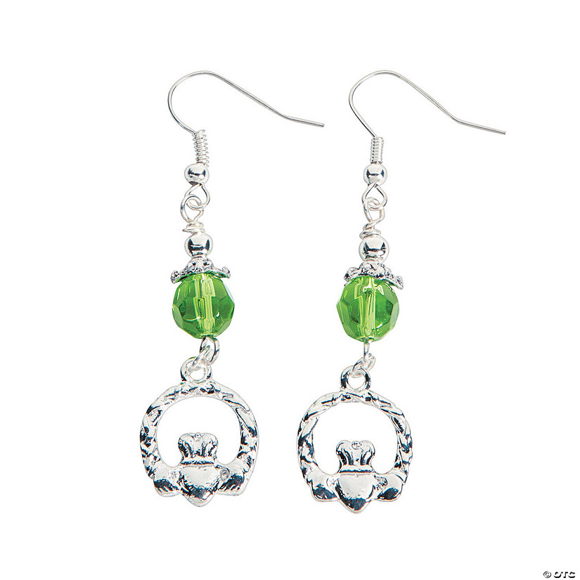 Claddagh Beaded Earrings Craft Kit