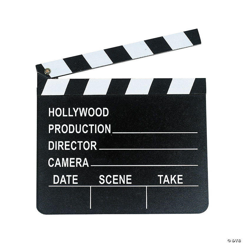 Classic Director's Clapboard