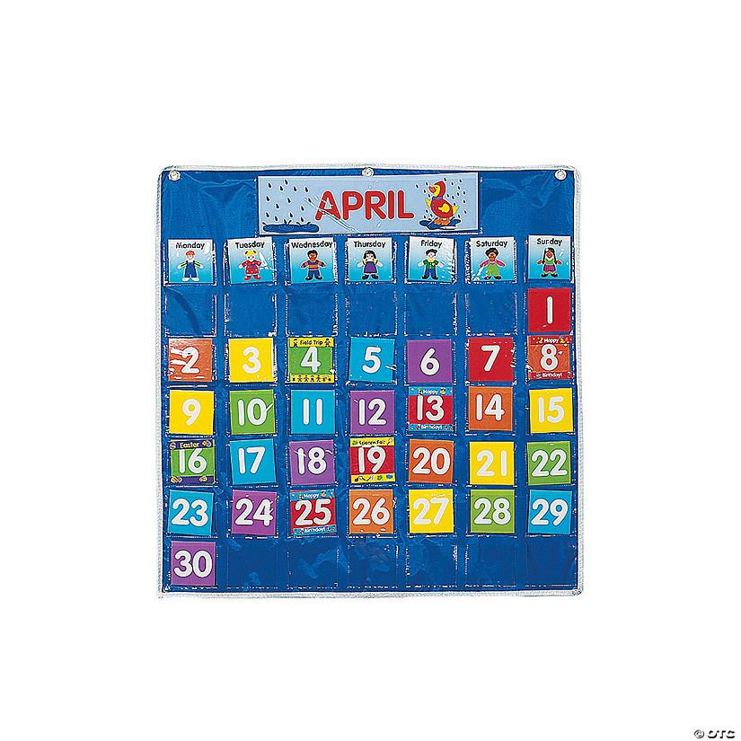 Classroom Calendar Chart : Classroom calendar pocket chart