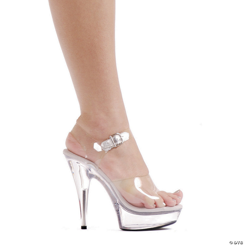 Clear Brook Platform High Heel Shoes