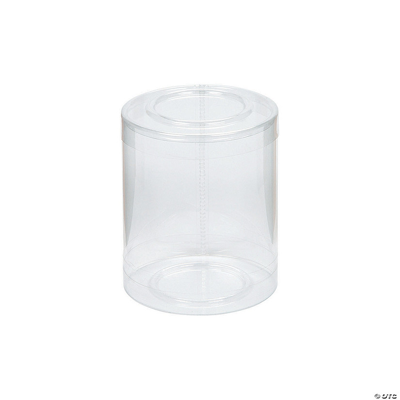 Clear Cylinder Boxes