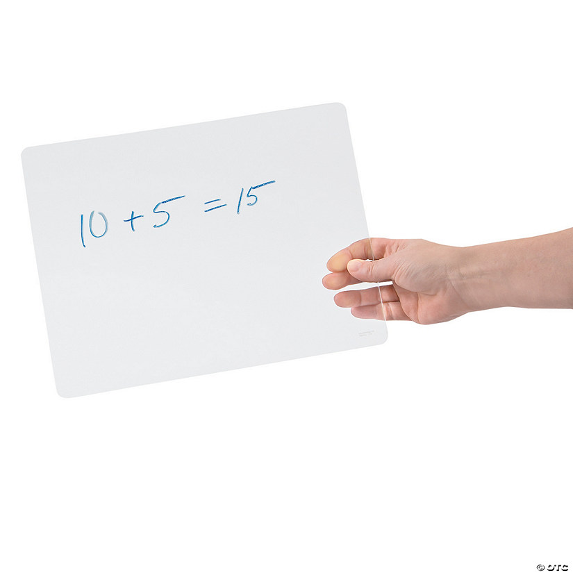 Clear Dry Erase Boards