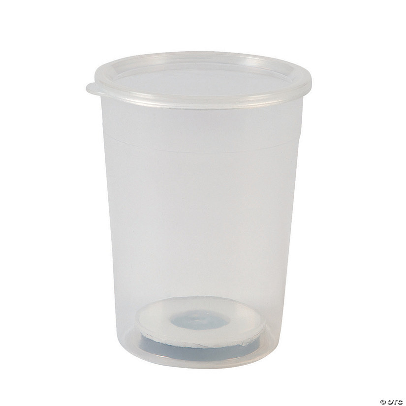 Clear Magnetic Storage Cups