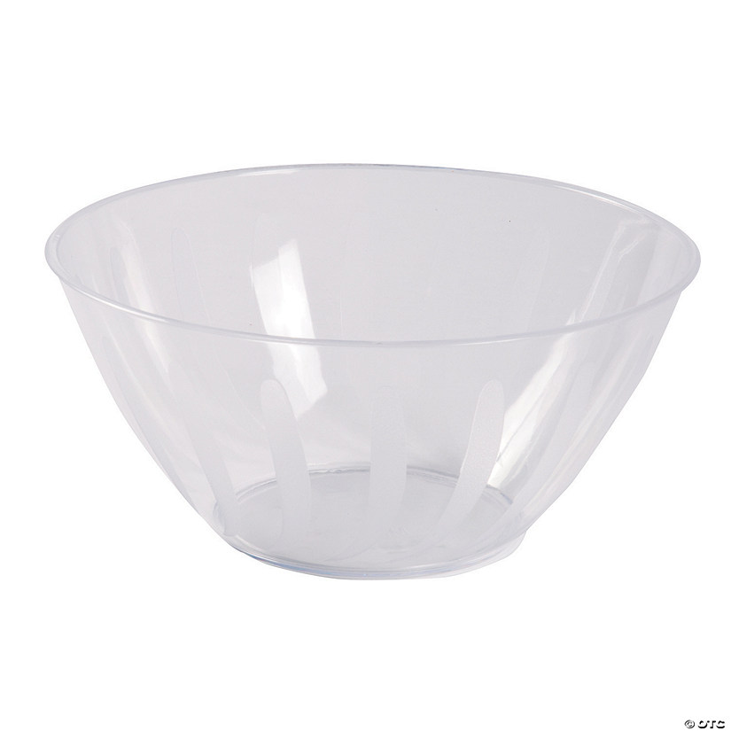 Clear Serving Bowl - 2 qt.