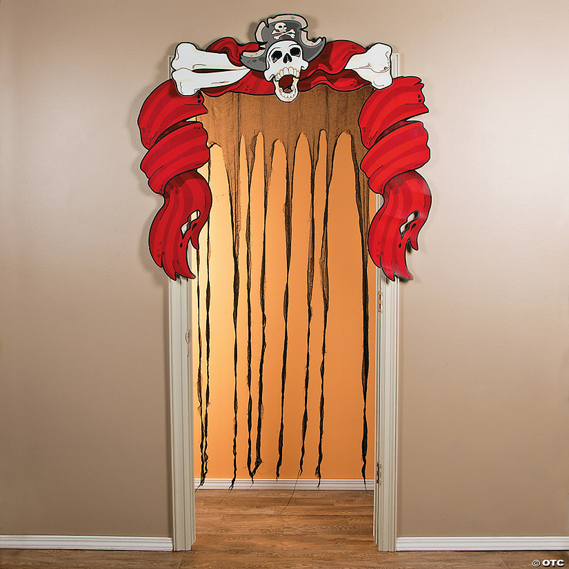 Cloth Ragged Ship Door Curtain