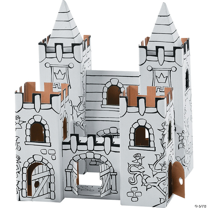 Color-A-Castle Playset: Princess Castle
