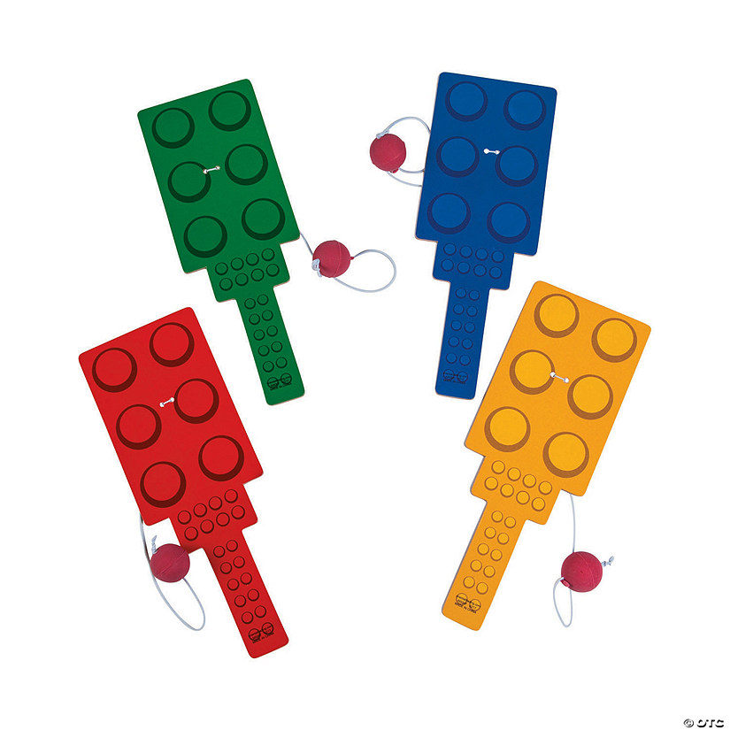 Color Brick Party Paddleball Games