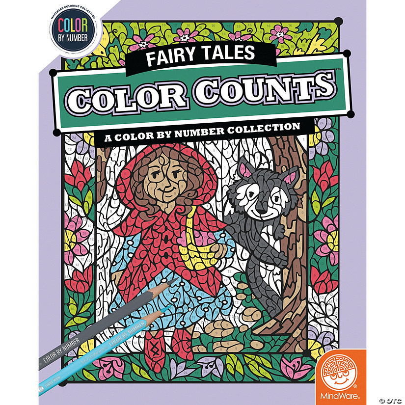 Color by Number Color Counts: Fairy Tales
